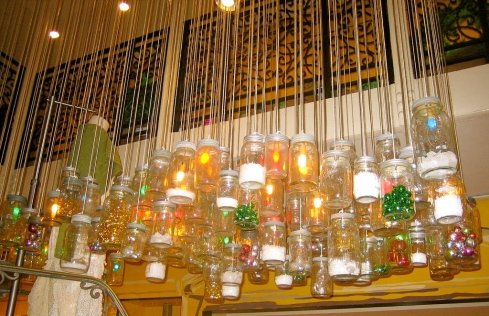 Even Anthropologie got in on the action one year at Christmas when decorating their stores.