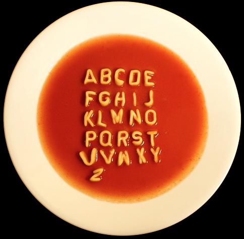 Alphabet Soup The Funky Bear