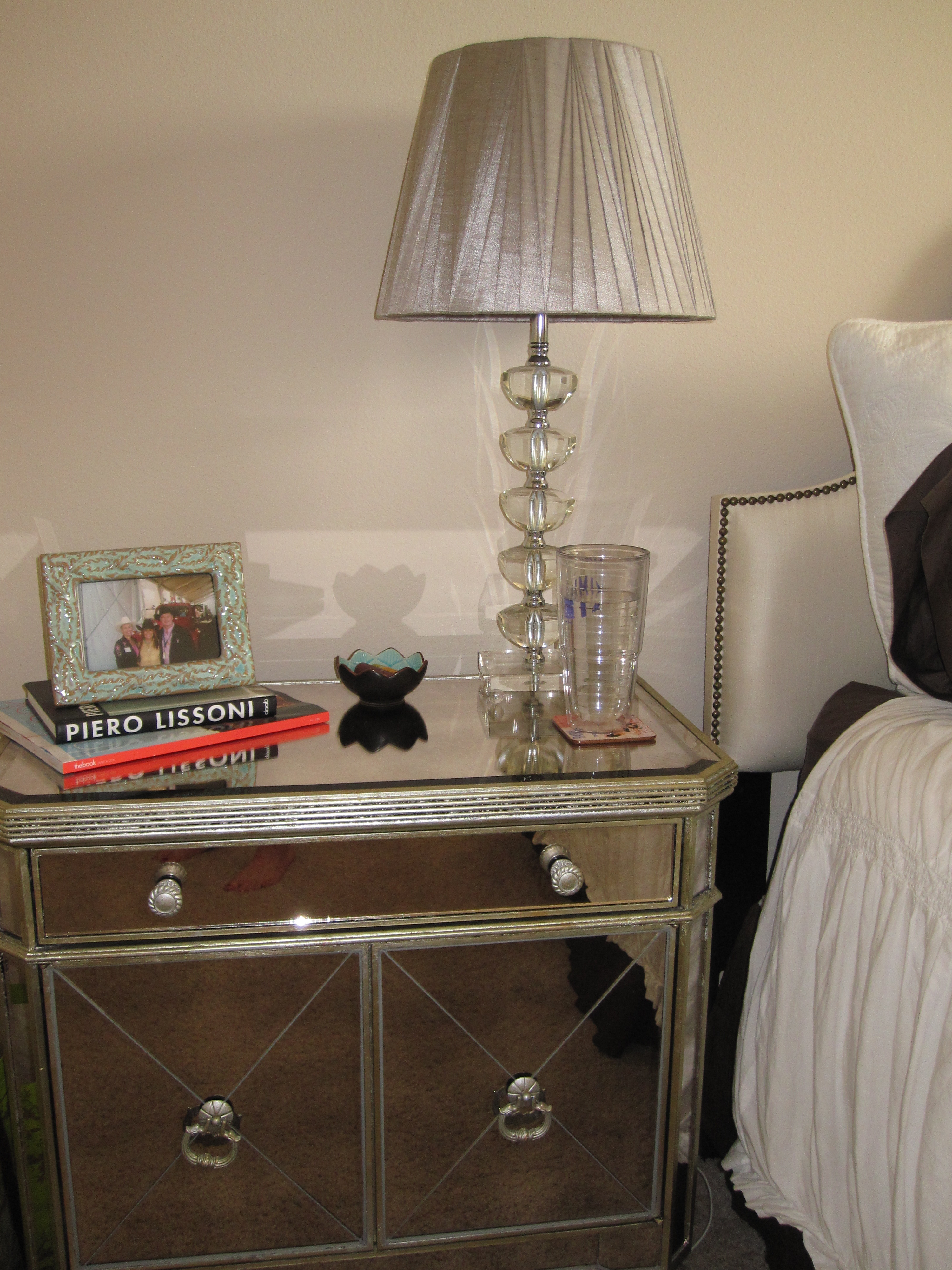 The Bedside Tables Are From Z Gallerie ...